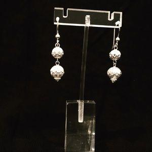 Jewelry - 925 sterling silver handmade filigree earrings